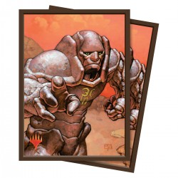 100 Sleeves Standard - Ultra Pro - Magic The Gathering - Karn Silver Golem