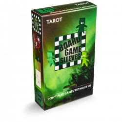 50 TAROT Soft Sleeves - Arcane Tinmen - Clear