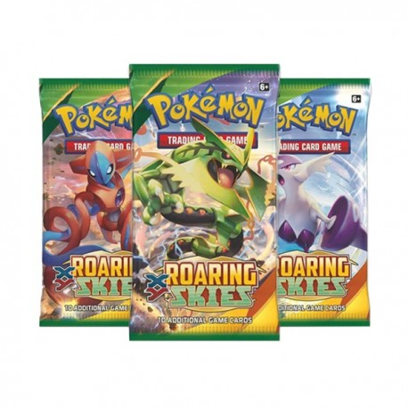 Booster of 10 Cards - XY - Roaring Skies ENG - Pokemon