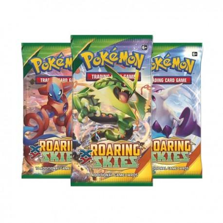 Busta da 10 Carte - XY - Furie Volanti ENG - Pokemon