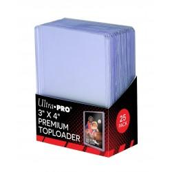 25 Proteggi Carta Rigido - Premium Toploader - Ultra Pro