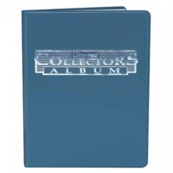 Portfolio - 9 Pocket - 10 Pages - Collectors Porfolio - Ultra Pro - Blue