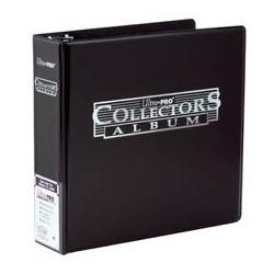 Raccoglitore - 3 Anelli - Collectors Album - Ultra Pro - Nero