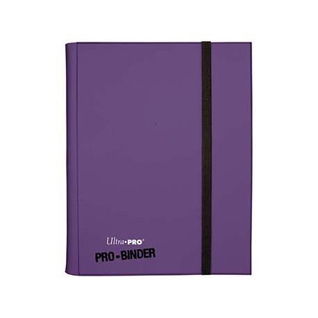 Portfolio - 9 Tasche - 20 Pagine - Pro Binder - Ultra Pro - Viola