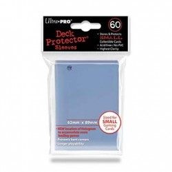 60 Sleeves Small - Ultra Pro - Clear