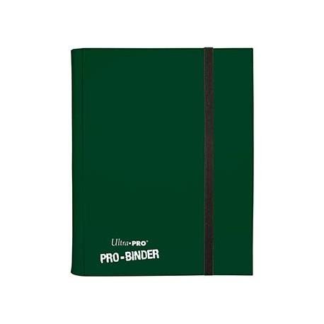 Portfolio - 9 Pocket - 20 Pages - Pro Binder - Ultra Pro - Dark Green