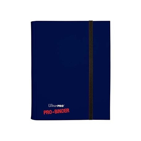 Portfolio - 9 Pocket - 20 Pages - Pro Binder - Ultra Pro - Dark Blue