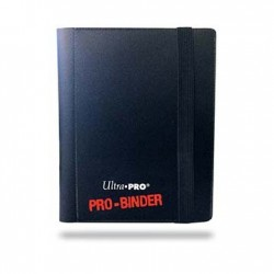 Portfolio - 2 Pocket - 20 Pages - Pro Binder - Ultra Pro - Black