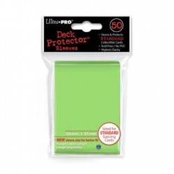 50 Bustine Protettive Standard - Ultra Pro - Verde Lime