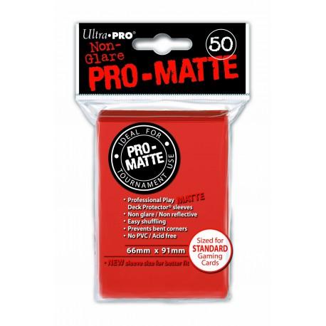 50 Bustine Protettive Standard Pro Matte - Ultra Pro - Pesca