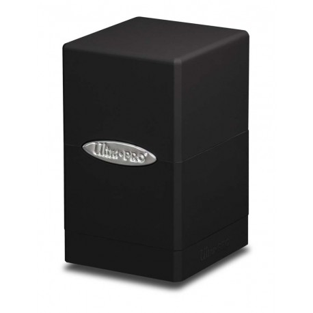 Deck Box Satin Tower - Ultra Pro - Black