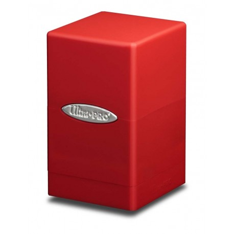 Deck Box Satin Tower - Ultra Pro - Red