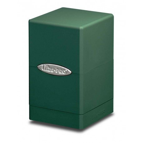 Deck Box Satin Tower - Ultra Pro - Green