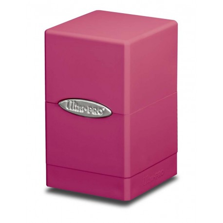 Deck Box Satin Tower - Ultra Pro - Bright Pink
