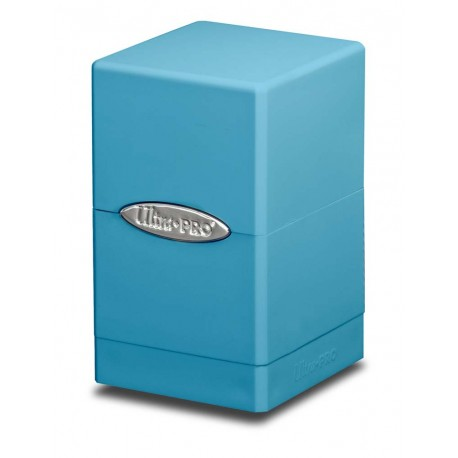 Deck Box Satin Tower - Ultra Pro - Light Blue