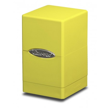 Deck Box Satin Tower - Ultra Pro - Bright Yellow