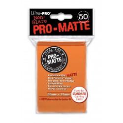 50 Sleeves Standard Pro-Matte - Ultra Pro - Orange