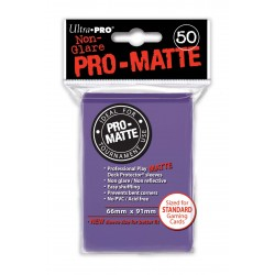 50 Sleeves Standard Pro-Matte - Ultra Pro - Purple
