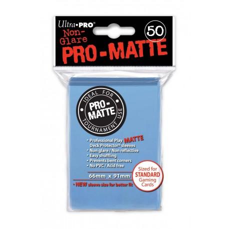 50 Sleeves Standard Pro-Matte - Ultra Pro - Light Blue
