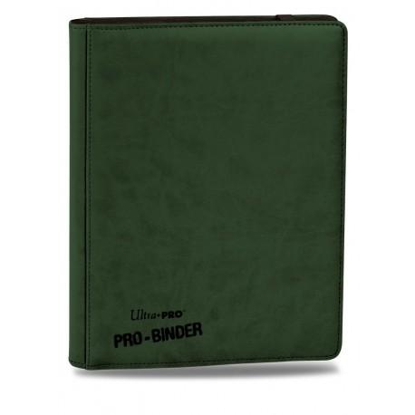Portfolio - 9 Tasche - 20 Pagine -Premium Pro Binder - Ultra Pro - Verde