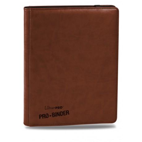 Portfolio - 9 Pocket - 20 Pages - Premium Pro Binder - Ultra Pro - Brown