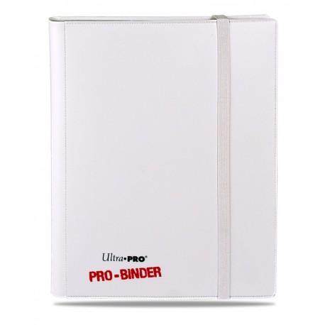 Portfolio - 9 Tasche - 20 Pagine - Pro Binder - Ultra Pro - Bianco su Bianco