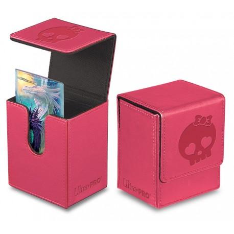 Porta Mazzo Premium Flip Box - Ultra Pro - Rosa