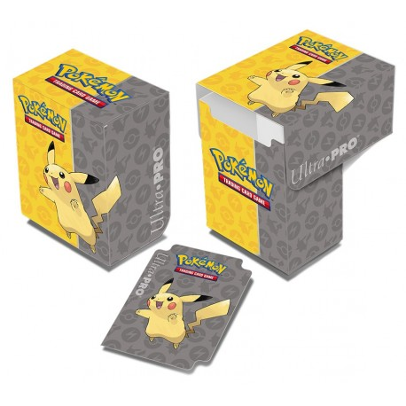 Porta Mazzo Deck Box - Ultra Pro - Pikachu Full View