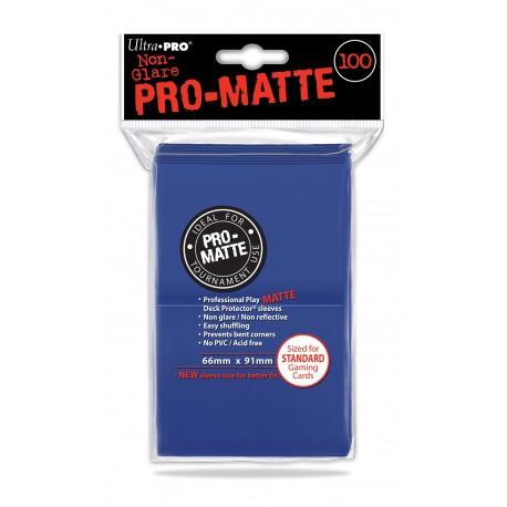 100 Sleeves Standard Pro-Matte - Ultra Pro - Blue