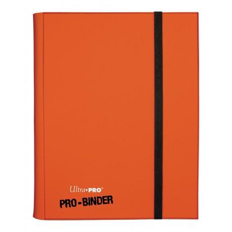 Portfolio - 9 Tasche - 20 Pagine - Pro Binder - Ultra Pro - Arancione