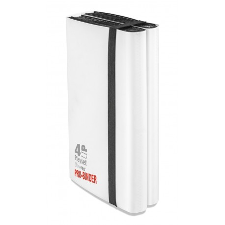 Portfolio - 12 Tasche - 20 Pagine - 4-UP Playset - Pro Binder - Ultra Pro - Bianco