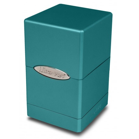 Deck Box Satin Tower - Ultra Pro - Metallic Ocean Shimmer