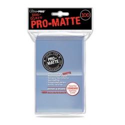 100 Bustine Protettive Standard Pro Matte - Ultra Pro - Trasparente