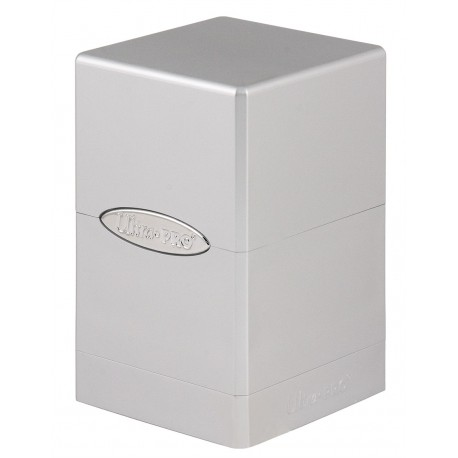 Deck Box Satin Tower - Ultra Pro - Metallic Silver