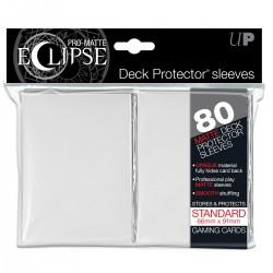 80 Bustine Protettive Standard Pro Matte Eclipse - Ultra Pro - Bianco