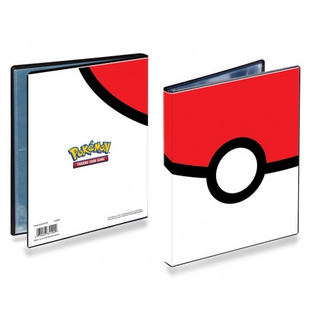 Portfolio - 4 Tasche - 10 Pagine - Pokemon - Ultra Pro - Pokeball