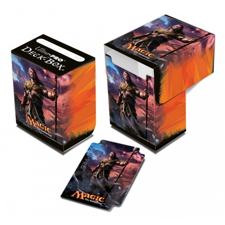 Porta Mazzo Deck Box - Ultra Pro - Magic The Gathering - Dragons of Tarkir - Sarkhan Unbroken