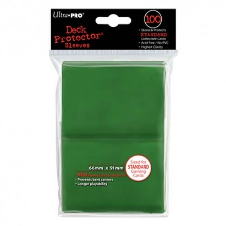 100 Sleeves Standard - Ultra Pro - Green