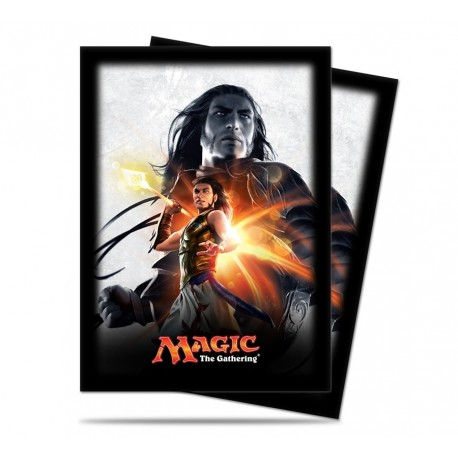 80 Bustine Protettive Standard - Ultra Pro - Magic The Gathering - Magic Origins - Gideon Jura
