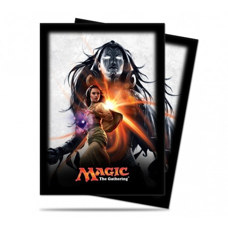 80 Bustine Protettive Standard - Ultra Pro - Magic The Gathering - Magic Origins - Liliana Vess