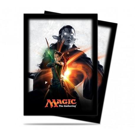 80 Bustine Protettive Standard - Ultra Pro - Magic The Gathering - Magic Origins - Nissa Revane