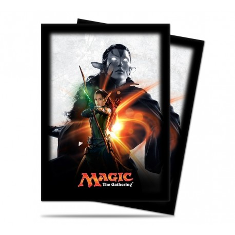 80 Sleeves Standard - Ultra Pro - Magic The Gathering - Magic Origins - Nissa Revane