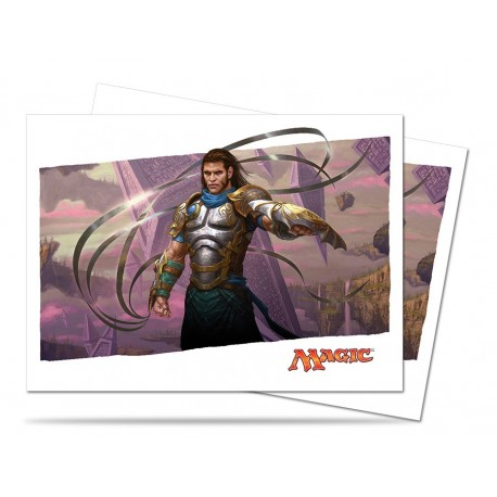 80 Bustine Protettive Standard - Ultra Pro - Magic The Gathering - Battle For Zendikar - Gideon, Ally of Zendikar