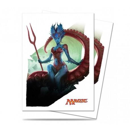 80 Bustine Protettive Standard - Ultra Pro - Magic The Gathering - Battle For Zendikar - Kiora, Master of the Depths
