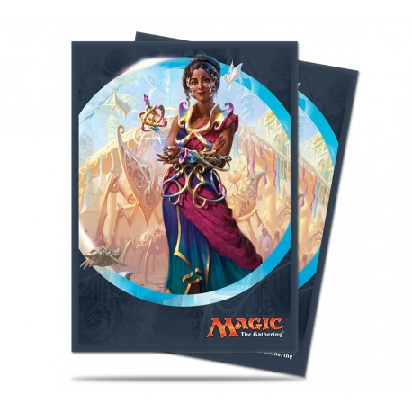 80 Bustine Protettive Standard - Ultra Pro - Magic The Gathering - Kaladesh - Saheeli Rai
