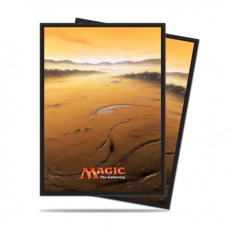 80 Sleeves Standard - Ultra Pro - Magic The Gathering - Mana 5 - Plains