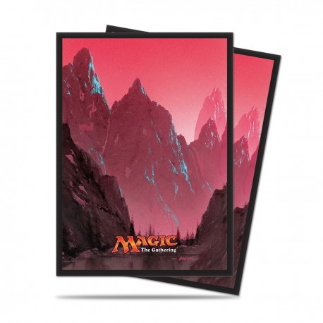 80 Sleeves Standard - Ultra Pro - Magic The Gathering - Mana 5 - Mountain