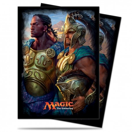 120 Sleeves Standard - Ultra Pro - Magic The Gathering - Commander 2016 - Kynaios and Tiro of Meletis