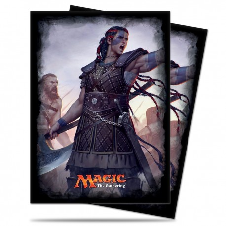 120 Bustine Protettive Standard - Ultra Pro - Magic The Gathering - Commander 2016 - Saskia the Unyielding