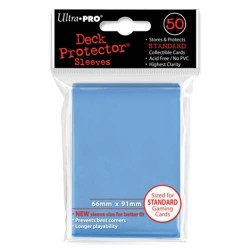 50 Sleeves Standard - Ultra Pro - Light Blue